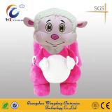 De Rit van de Jonge geitjes van China op Rit van het Stuk speelgoed van de Pluche de Gevulde Dierlijke Dier