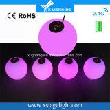 Uso ligero cinético sin hilos de la batería DMX LED de la alta calidad para el banquete de boda
