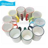 tazza di ceramica FC-M022 di sublimazione della tazza dell'orlo di colore 11oz