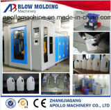 En PEHD 0.1L~5L/PEBD/PEBD linéaire des bouteilles de PP de gallons d'extrusion de la machine de moulage par soufflage