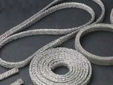 Acciaio inossidabile e silenziatore del collegare lavorato a maglia rame