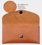 Персонализированный случай кожи типа бумажника телефона передвижного вспомогательного оборудования всеобщий франтовской, случай телефона бумажника