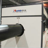 La presión de suministro de agua sólida del tubo de plástico de la extrusora extrusora