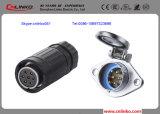Ya-20 7pin Waterproof o conetor de potência para o indicador de diodo emissor de luz, o áudio, o comércio, o entretenimento, o equipamento do estágio, a iluminação de DMX e o equipamento industrial
