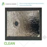 D'aluminium panneau isolant en fibre de verre vide pour le projet de construction