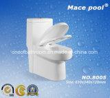 Toilettes en céramique à toilette siphonique à toilette (8005)
