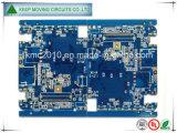 4 capas de oro de inmersión PCB Fr4 con Blue Soldermask