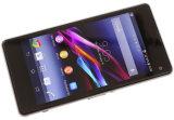 元の卸し売りロック解除された携帯電話4.3のインチ人間の特徴をもつZ1コンパクトなSmartphoneのスマートな携帯電話