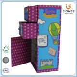 Изготовленный на заказ коробка хранения картона Maded с ящиком и дверью