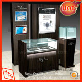 Le bois Watch Display statif Watch Display vitrine de magasin