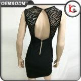 新しい方法女性は黒くセクシーなShort Dress Elegant Backlesss党女性フォーマルドレスに服を着せる