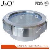 Tipo de União sanitárias do visor de vidro de Aço Inoxidável