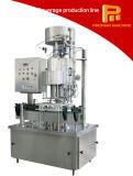 Cadena de relleno del agua y que capsula mineral líquida simple y eficaz de la máquina que se lava/de producción