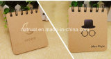 cahiers faits sur commande de papier d'emballage du modèle 2018new