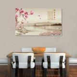 La peinture à l'huile chinoise imprimée numérique pour la décoration intérieure