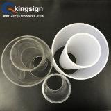 Tube acrylique transparent et blanc