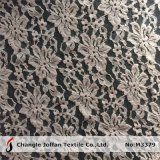 Tela gruesa del cordón de la manera del algodón de la materia textil (M3379)