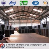 Entrepôt préfabriqué de construction de structure métallique pour la mémoire