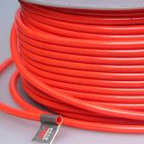Des Polyester-TPU umsponnene Orange Luft-des Schlauch-10*6.5