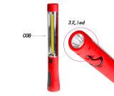 Электрофонарь света работы COB+1 СИД