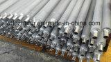 Tubo de aleta del acero con poco carbono SA179 con las aletas de aluminio sacadas