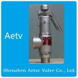 Valvola di sicurezza ad alta pressione dell'acciaio inossidabile 316