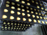 Galleta de la máquina de la galleta del PLC Kh-400