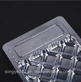 Embalagem de alimentos Bandeja de plástico transparente