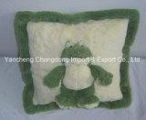 プラシ天のマウス動物が付いている正方形のソファーのクッション