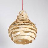LED 빛을 거는 조립된 나무로 되는 Harmoniuos 삽화 둥지