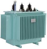 Transformateur d'alimentation électrique immergé dans l'huile de 3 phases