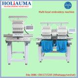 Holiaumaの安い価格のTシャツの/Garments/Capの刺繍機械中国のためのミシンとの販売のための商業刺繍機械