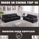 Lizz Furniture Sofá de luxo genuíno de couro de vaca de alta qualidade