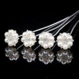 Pin floreale Wedding dei monili della perla del mazzo nuziale