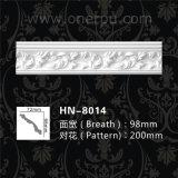Couronne de polyuréthane Corniche Moulure décorative pour la vente Hn-8014