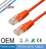 Кабели шнура заплаты кабеля локальных сетей Sipu высокоскоростные UTP CAT6