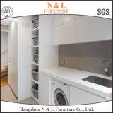 N & L projeto da casa de campo do gabinete da despensa da cozinha do revestimento da laca
