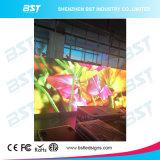P8 de alto brillo fijo al aire libre de publicidad a todo color de pantalla de LED