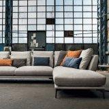 Conjunto moderno de sofá com sala de estilo moderno com tecido (F1112 #)