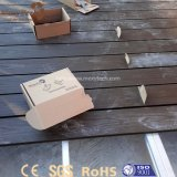 Zócalo plástico del soporte ajustable resistente de la altura para el Decking