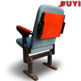회의 홀 접히는 극장 가구 프레임 Retardent 직물 강당에 의하여 덮개를 씌우는 휴대용 의자를 위한 중국 제작자