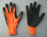 латекс Glove-5232 отделки вкладыша Knit шнура 10g грубый