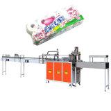 Papier de roulis de tissus empaquetant la machine