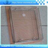 Cestino della maglia dell'acciaio inossidabile usato per memoria