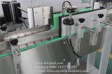 Vinheta adesiva automática completa recipientes redondos rotulando Fabricante da Máquina