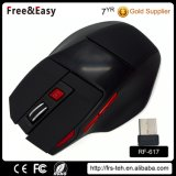Batería recargable de 2,4 USB Wireless Optical Mouse juegos