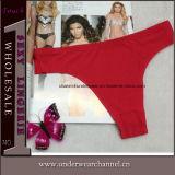 Brefs sous-vêtements de culottes de gros de femmes slips sans joint sexy de lanière (TJS014)