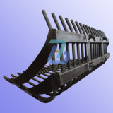 重い鉄骨構造の溶接の製造の部品