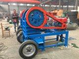 De mobiele Kleine Machine van de Maalmachine van de Kaak, Stenen Maalmachine met Dieselmotor