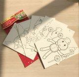 El jumbo impreso la Navidad carda A5 para los niños